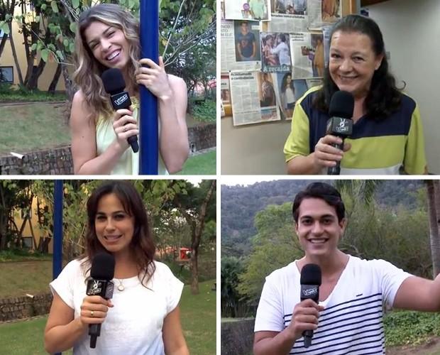 torcida famosos audição das estrelas the voice (Foto: The Voice Brasil/TV Globo)