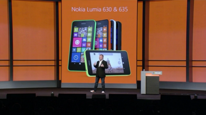 Nokia Lumia 630 e 635, com Windows Phone 8.1, têm opções com 4G, 3G e dual chip (Foto: Divulgação/Microsoft) (Foto: Nokia Lumia 630 e 635, com Windows Phone 8.1, têm opções com 4G, 3G e dual chip (Foto: Divulgação/Microsoft))