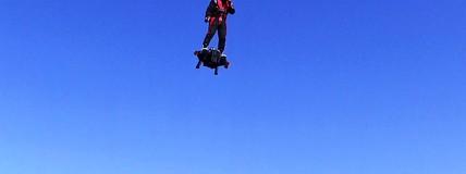Esporte Espetacular vai até a França para conhecer a flyboard air
