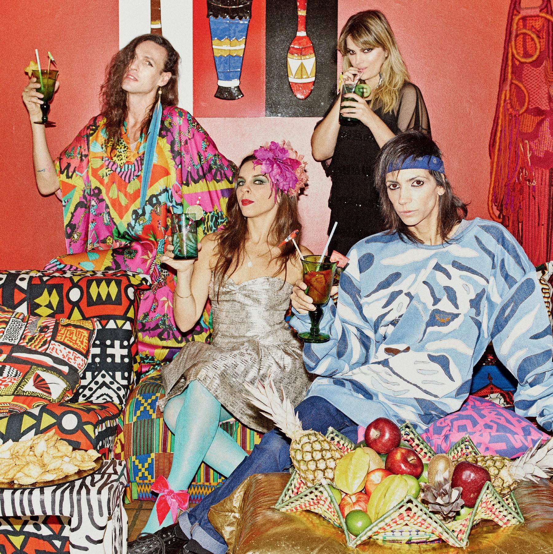 Para animar a festa: três turmas fashion mostram como celebram o fim do ano