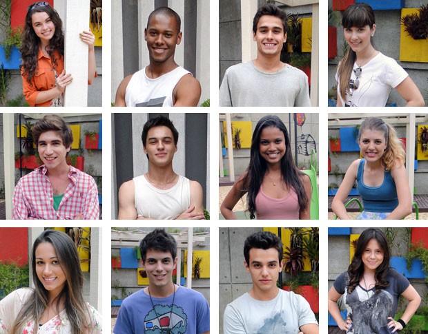 Doze alunos completam a turma do segundo ano da novela (Foto: Malhação / TV Globo)
