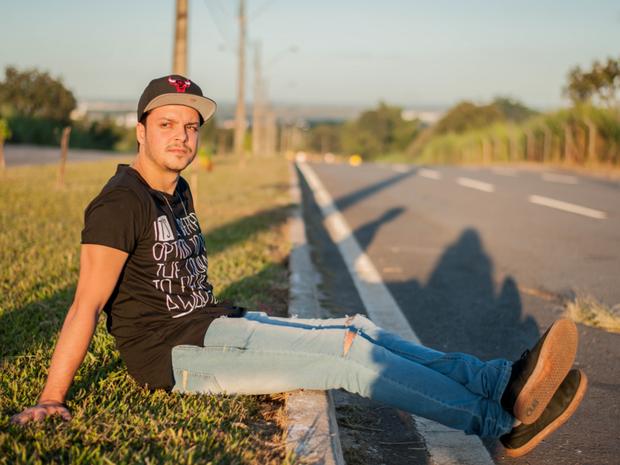André Asafe divulga canção escrita por compositor de Lucas Lucco (Foto: Divulgação)