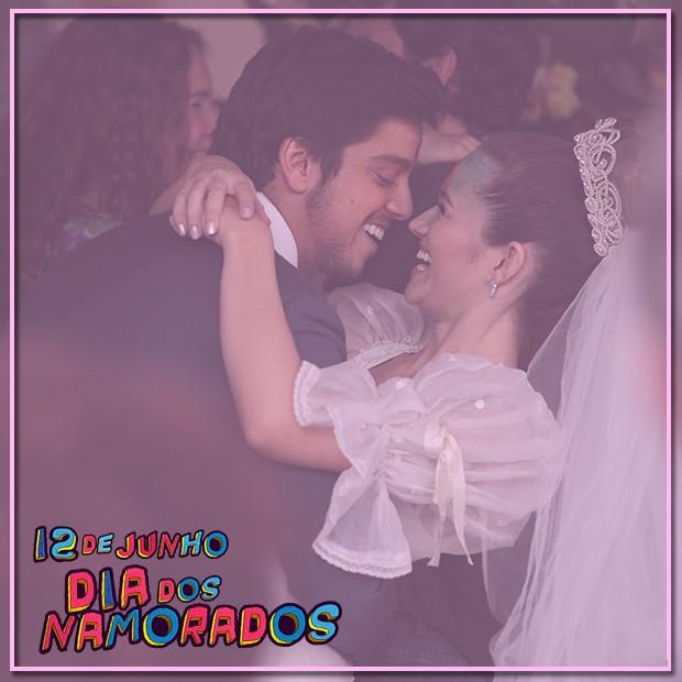 BruTinha é o casal mais fofo! (Foto: Malhação / TV Globo)
