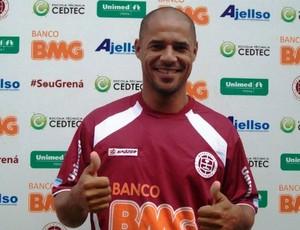 Hércules, atacante da Desportiva Ferroviária. (Foto: Divulgação)