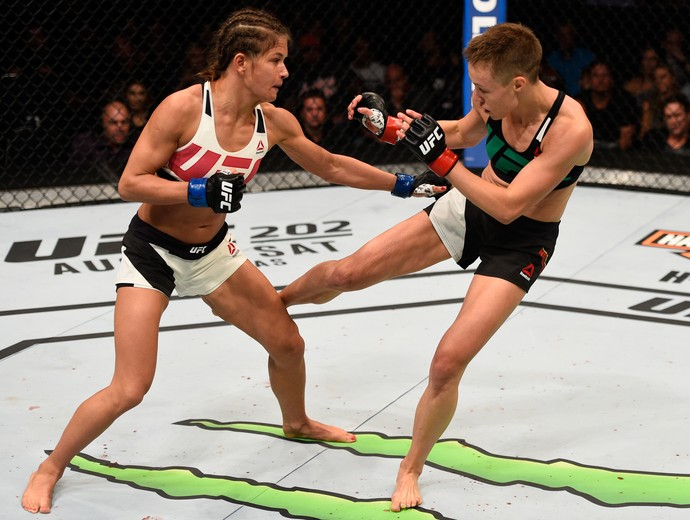 Karolina Kowalkiewicz Rose Namajunas UFC 201 (Foto: Getty Images)