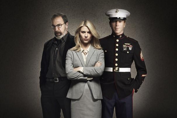 Saul, Carrie e Brody em 'Homeland - Segurnaça Nacional' (Foto: Divulgação/Twentieth Century Fox)