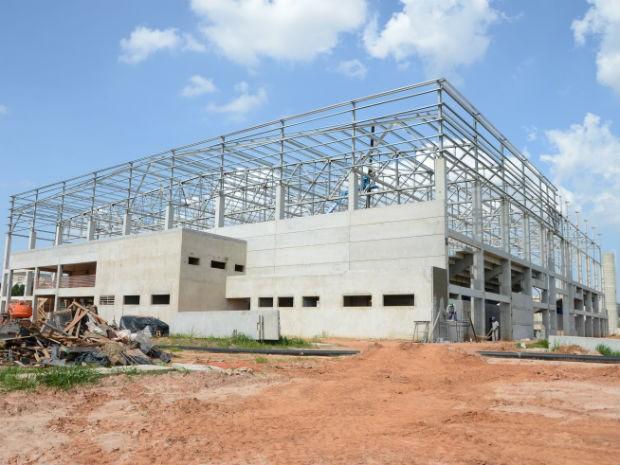 Arena Multiúso fica na Rodovia Raposo Tavares, na altura do quilômetro 106 (Foto: Emerson Ferraz)