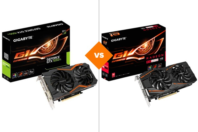 Geforce GTX 1050 ou Radeon RX 470: veja qual placa de vídeo é melhor (Foto: Arte/TechTudo)