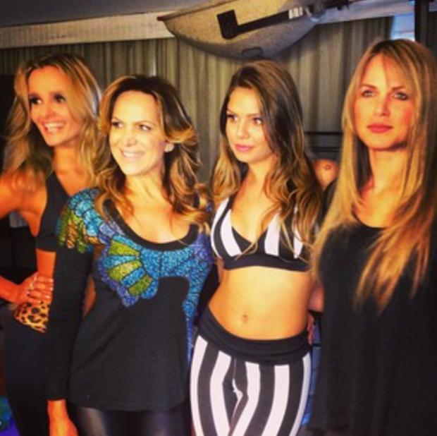 Paola Crespi, Marinara, Taais Melo e Susana Werner (Foto: Instagram / Reprodução)