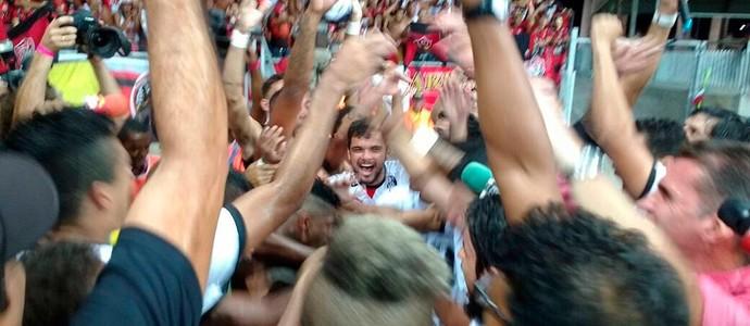 vitória campeão baiano; fonte nova; ba-vi; bahia (Foto: Rafael Santana)