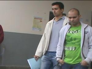 Delegado Fernando lima prendeu em Carangola, o universitário Maxwell. (Foto: Reprodução / Intertv dos Vales)
