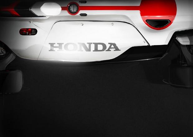 Conceito da Honda irá combinar elementos de moto e carro (Foto: Divulgação)