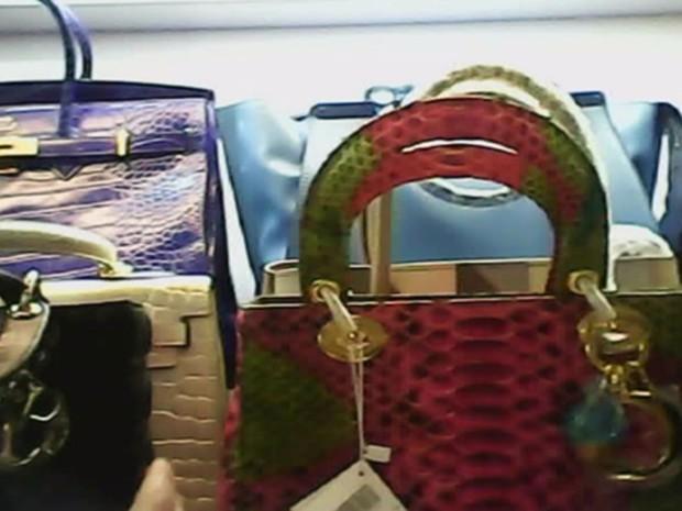 374a6a6a9 bolsa falsificada avaliada em R$ 3 mil, segundo relatório de detetives  franceses (Foto
