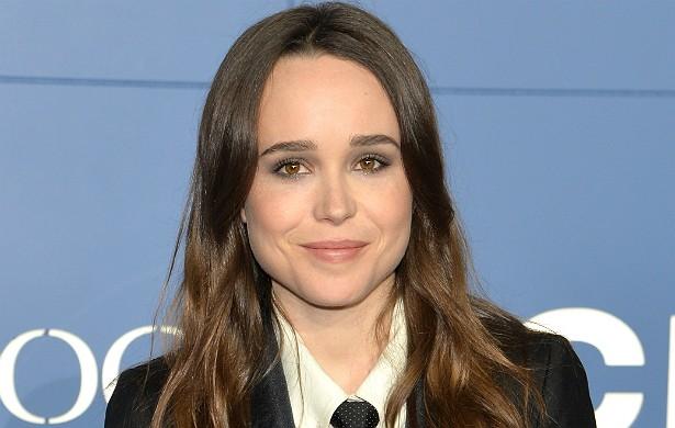 A atriz canadense Ellen Page (muito lembrada como a Lince Negra dos filmes da franquia 'X-Men' e como a personagem-título de 'Juno', de 2007) se assumiu gay em fevereiro deste ano, num discurso para jovens homossexuais em Las Vegas, EUA. (Foto: Getty Images)
