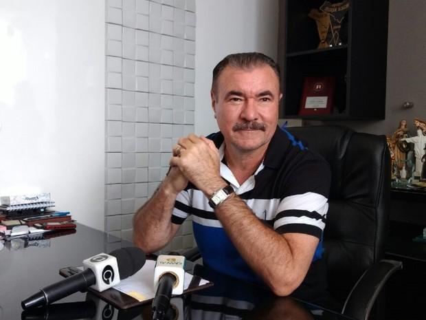 Deputado federal, Cícero Almeida, falou sobre o resultado das eleições (Foto: Derek Gustavo/G1)