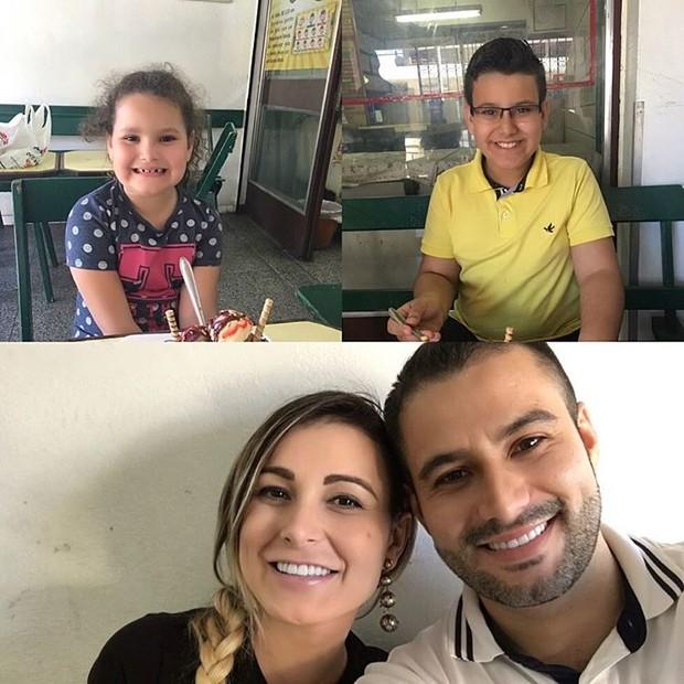 Andressa Urach e Tiago Costa (Foto: Instagram / Reprodução)