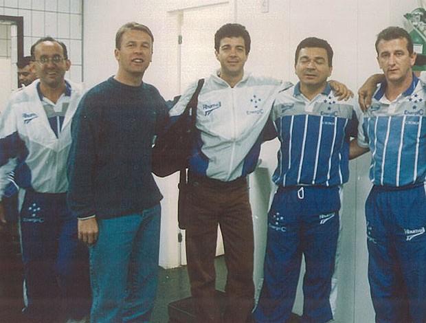 Mano Menezes Cruzeiro arquivo (Foto: Osmar Ladeia / Arquivo)