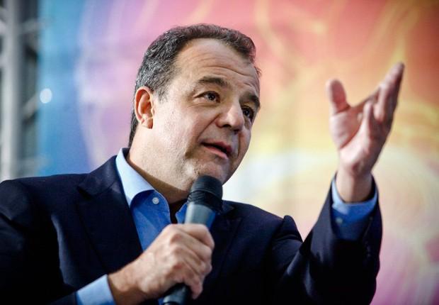 O ex-governador do Rio Sérgio Cabral (Foto: Bruno Itan/GERJ)