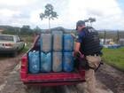 PRF apreende 200 litros de gasolina ilegal da Venezuela em Pacaraima, RR