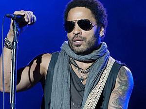 Lenny Kravitz se apresenta no primeiro dia do Rock in Rio Madri 2012, em 30 de junho (Foto: Divulgação)