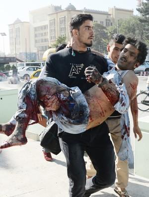 Sayed Mustafa Sadat Rugby ataque terrorista (Foto: AFP)