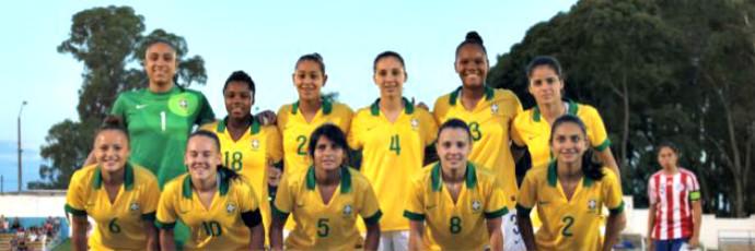 Gabi (camisa 5), foi campeão com a Seleção Brasileira Sub-20 (Foto: CBF/Divulgação)