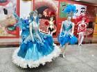 Visitantes podem conferir mostra de fantasias de carnaval