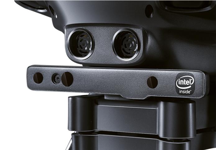 Câmera RealSense da Intel é o grande diferencial do novo drone (Foto: Divulgação/Yuneec)
