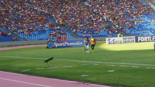 Sampaio e Ponte Preta jogam no Estádio Castelão (Foto: Bruno Alves / GloboEsporte.com)