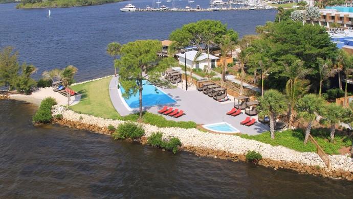 Santos ficaria no resort Club Med nos Estados Unidos (Foto: Divulgação/Club Med)