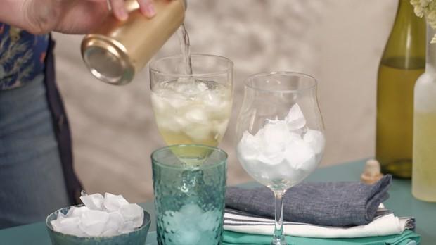 Limoncello spritz, drinque, Rita Lobo, Cozinha Prtica (Foto: Divulgao/GNT)