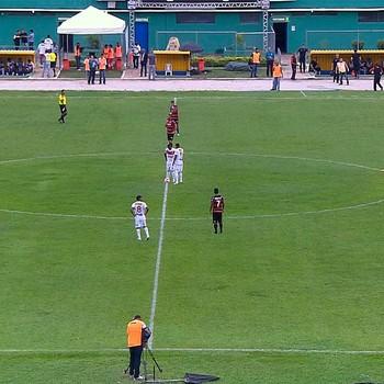 Serrano x Vitória; estádio lomanto junior (Foto: Imagens/TV Bahia)