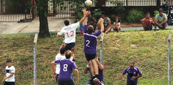 Equipe Rugby Cowboys treina visando temporada 2014 (Foto: Semepp / Divulgação)