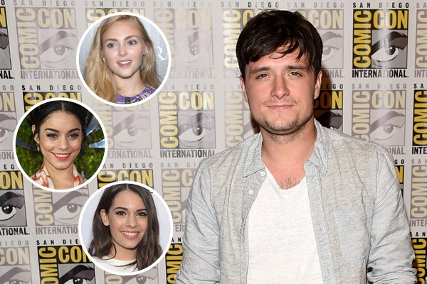 Josh Hutcherson, AnnaSophia Robb, Vanessa Hudgens e Claudia Traisac (Foto: Getty Images)