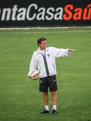 Cuca, Atlético-MG, treino, Cidade do Galo (Foto: Bruno Cantini / Site Oficial do Atlético-MG)