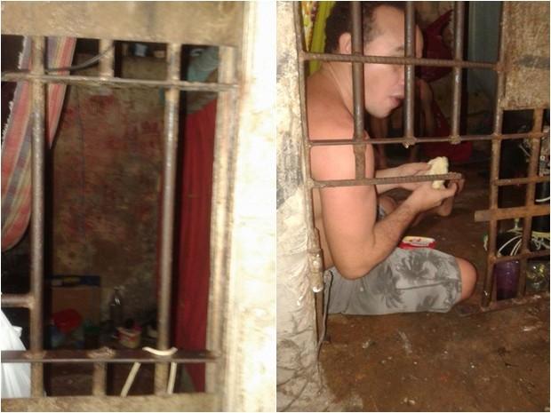 Presos arrombam celas em Santa Helena, MA  (Foto: Divulgação)