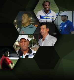 CARROSSEL - Treinadores demitidos Pernambuco (Foto: Editoria de Arte)