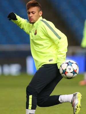 Neymar Treino Barcelona (Foto: Reuters)