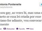'Eu não sou gay, às vezes bi', revela Antônia Fontenelle em rede social
