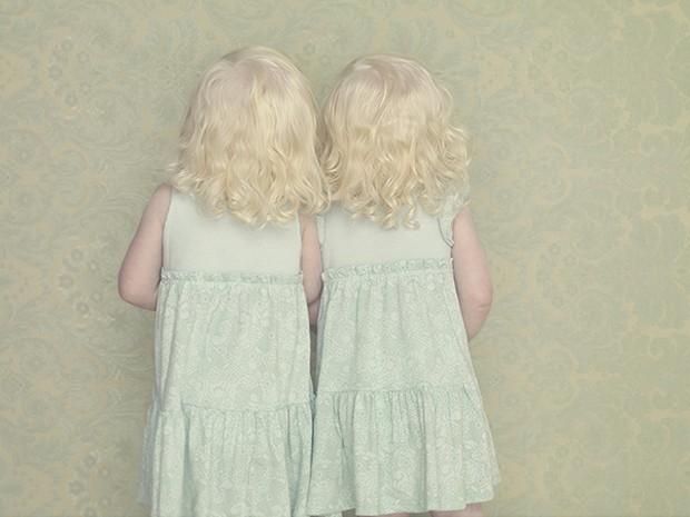 Fotografia das gêmeas Helena e Mariana (Foto: Gustavo Lacerda/Divulgação)