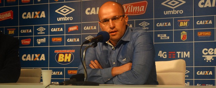Thiago Scuro diz que Cruzeiro nunca fez porposta por Rafael Martins (Foto: Maurício Paulucci)