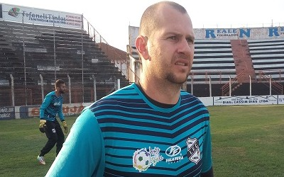 Marcelo Bonan Goleiro Independente-SP Galo (Foto: Jonathan Bueno / Independente FC)