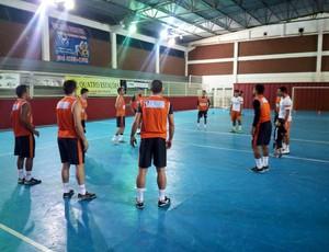 Muriaé Futsal treino  (Foto: Rafael Alves/Divulgação)