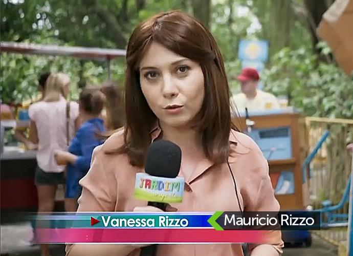 Repórter do Jardim Urgente (Foto: TV Globo)