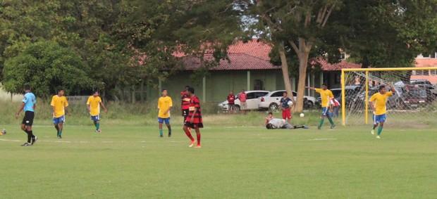 Picos durante Flamengo-PI no Piauiense Sub-19 (Foto: Aline Rodrigues)