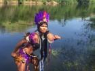 Destaque performática da Beija-Flor promete surpresa na Sapucaí