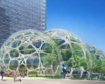 Conheça as sedes futuristas de Google, Amazon, Apple...
