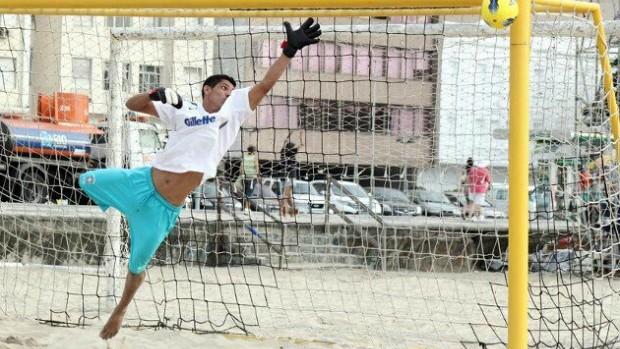 Wesley Silva, goleiro de Beach Soccer (Foto: Arquivo Pessoal/Wesley Silva)