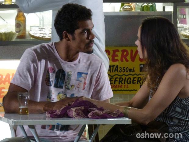 Jairo diz que sua filha não está à venda (Foto: Em Família/TV Globo)