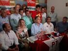 Fernando Pimentel faz campanha pró- Dilma e ataca PSDB em Valadares